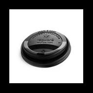 89 mm fekete CPLA kávés pohártető (2,8-5,7 dl pohárhoz) | 30 Ft/db, 1000db