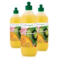 Cleaneco Háztartási  Kézi Mosogatószer koncentrátum - mangó & papaya illattal 1L - újrahasznosítható csomagolásban