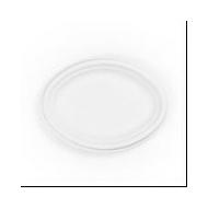 Cukornád tányér, ovális, 25 cm, lebomló, 500 db