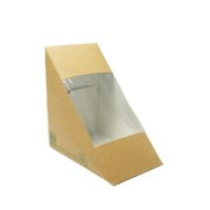 Háromszög szendvicsdoboz, lebomló, három szendvicshez 85mm| 75 Ft/db, 500db