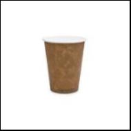 Kávés pohár, 2,8 dl, lebomló, barna | 41 Ft/db, 1000db