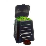 Komposztáló láda - újrahasznosított műanyag, 340 literes