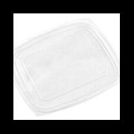 Lebomló doboztető, PLA, 6,8-9 dl dobozhoz, szögletes | 65 Ft/db, 300db
