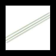 Lebomló szívószál PLA-ból, 5 mm, zöld csíkos, 4800 db | 8 Ft/db, 4800db