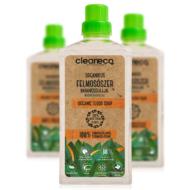Cleaneco Háztartási Organikus Felmosószer növényi alkohollal - Narancsolajjal 1L - komposztálható csomagolásban