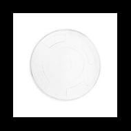 PLA pohár tető, szívószál nyílással (normál pohárhoz), 96 mm lapos | 21 Ft/db, 1000db