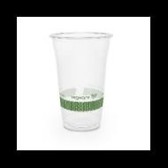 PLA pohár, standard, 5,7 dl, lebomló, hideg italokhoz | 75 Ft/db, 1000db
