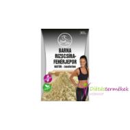 Szafi free barna rizscsíra-fehérjepor natúr- ízesítetlen (gluténmentes, vegán) 300 g