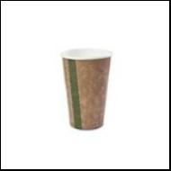 Teás pohár, 4,5 dl, lebomló, barna | 47 Ft/db, 1000db