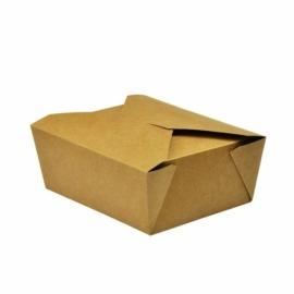 Ételtároló doboz tésztához, 1,3 l, lebomló , 300db