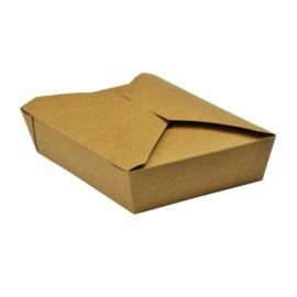 Ételtároló doboz tésztához, 1,5 l, lebomló , 280db