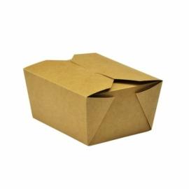 Ételtároló doboz tésztához, 7 dl, lebomló , 450db