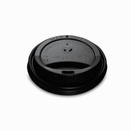 79 mm fekete CPLA kávés pohártető (2,3 dl pohárhoz) , 1000db