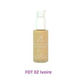 BoHo alapozó krém üvegben - FDT 02 - Ivoire