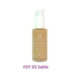 BoHo alapozó krém üvegben - FDT 03 - Sable