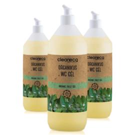 Cleaneci Ipari Organikus Wc Gél 1L - újrahasznosítható csomagolásban
