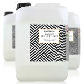 Cleaneco háztartási  alkoholos kézfertőtlenítő gél virucid 5l