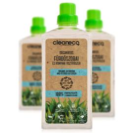 Cleaneco Háztartási Organikus Fürdőszobai és Konyhai Tisztítószer 1L - komposztálható csomagolásban