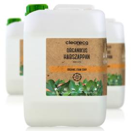 Cleaneco Ipari Organikus Habszappan - Mangó illattal 5L - újrahasznosított csomagolásban