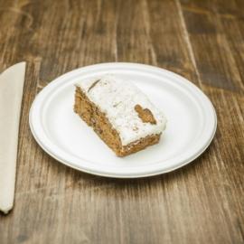Cukornád lapostányér, 17,8 cm, (csökkentett forrásfelhasználású), 500 db