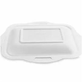 Elviteles doboz tető, 1,2-1,8 l dobozaljhoz, lebomló cukornád, meleg ételhez , 600db