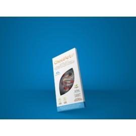 Édes Kék kakaószelet kókusszal, vörösáfonyával és gojival