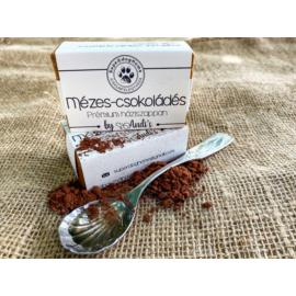 Mézes-csokoládés háziszappan (kézzel készített) 100% természetes