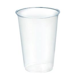 PLA pohár szintjelöléssel, 2 dl, lebomló, hideg italokhoz , 1000db
