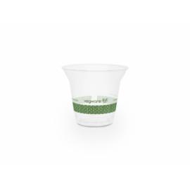 PLA pohár, standard, 2,5 dl, lebomló, hideg italokhoz , 500db