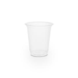 PLA pohár, keskeny, 2 dl, lebomló, hideg italokhoz  , 1000db