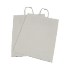 Papírtáska, újrahasznosított , csavart füllel (320*140*410 mm) 106 Ft/db, 125db