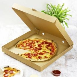 Pizza doboz, 42,5*42,5 cm, lebomló , 50db