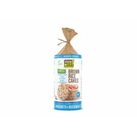 Rice Up teljes kiőrlésű barna rizs szelet hajdinával és amaránttal 120 g