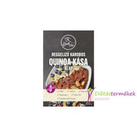 Szafi free reggeliző karobos quinoa kása alap 300 g (gluténmentes, tejmentes, tojásmentes)