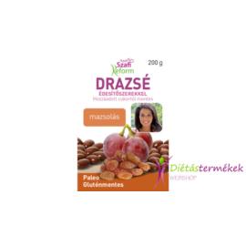 Szafi reform mazsolás drazsé kakaós bevonattal, édesítőszerekkel (gluténmentes, paleo) 200 g