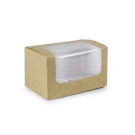 Szendvics-karton, lebomló , 500db