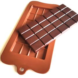 Sambirano Gold - Táblás csokiforma (100% szilikon)