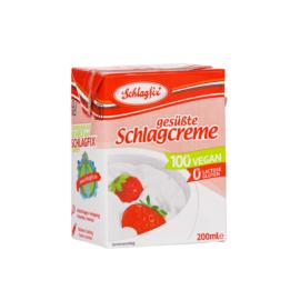 Schlagfix vegan habkrém 15% -édesített 200ml