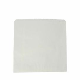 Zacskó, újrahasznosított, fehér , 1000db