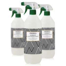 Cleaneco ipari alkoholos kézfertőtlenítő virucid szórófejjel 1l