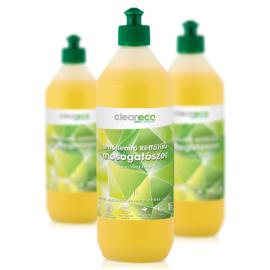 Cleaneco ipari fertőtlenítő kétfázisú mosogatószer 1l - újrahasznosítható csomagolásban