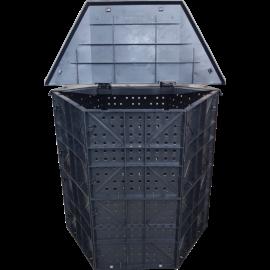 Komposztáló láda -tetővel (660 l)