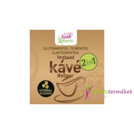 Szafi reform (gluténmentes, tejmentes, laktózmentes, paleo, vegán) 2in1 kávé italpor 150 g