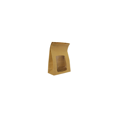 Étel elviteles zacskó, lebomló, ablakos, álló | 96 Ft/db, 250db