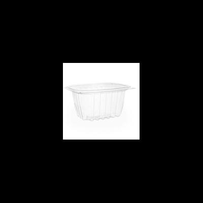 Lebomló ételtároló doboz, PLA, szögletes, 4,5 dl | 63 Ft/db, 450db