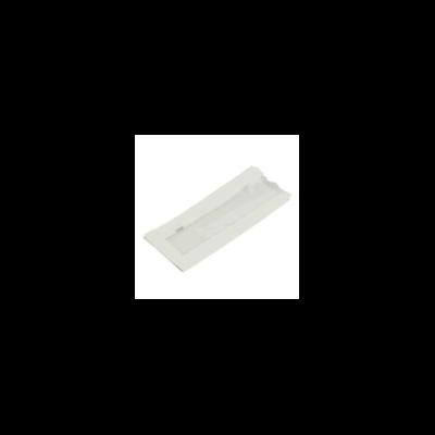 Zacskó meleg ételekhez, Natureflex, fehér, ablakos, lebomló | 28 Ft/db, 1000db
