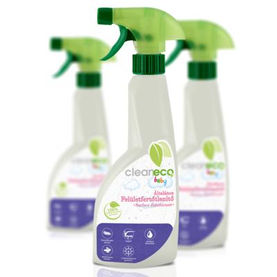 Cleaneco Háztartási Baby Felület Fertőtlenítő 0,5L - újrahasznosított csomagolásban