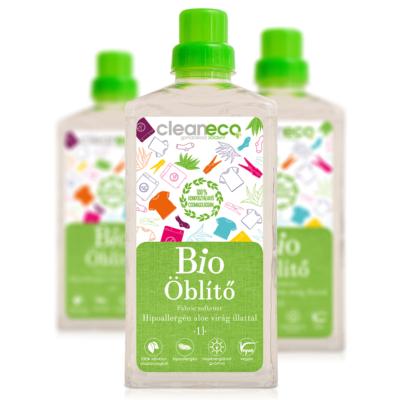 Cleaneco Háztartási Bio Öblítő - Hipoallergén Aloe virág illattal 1L - komposztálható csomagolásban