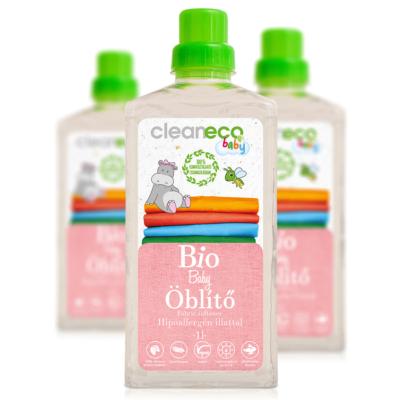 Cleaneco Háztartási Bio Baby Öblítő 1L - komposztálható csomagolásban
