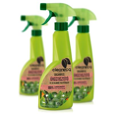 Cleaneco Háztartási Organikus Üvegtisztító és Általános Tisztítószer 0,5L - újrahasznosított csomagolásban